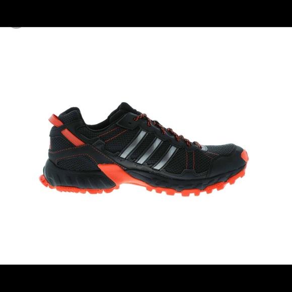 896a4a536 adidas Other - Adidas Rockadia Trail M size 12 black orange